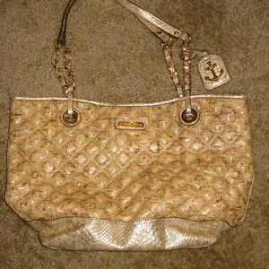 Anne Klein Cork Shoulder Tote